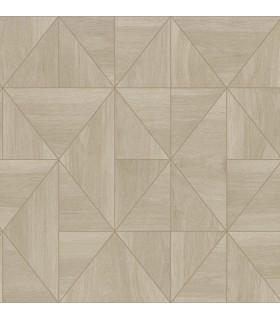 2908-25323 - Alchemy Wallpaper by A Street-Cheverny Geometric Wood