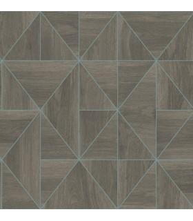2908-25322 - Alchemy Wallpaper by A Street-Cheverny Geometric Wood