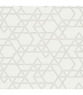 MG30823-Marburg Wallpaper by Brewster-Montego Geometric