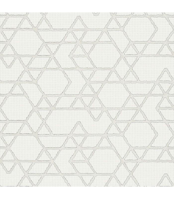 MG30823-Marburg Wallpaper by Brewster-Montego Geometric