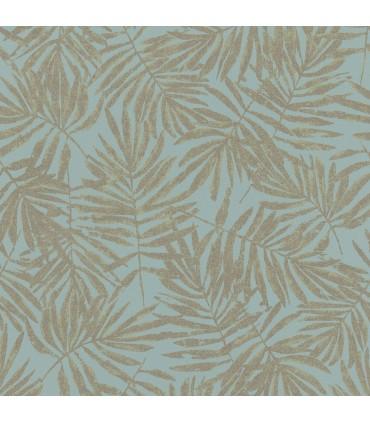 MG31319-Marburg Wallpaper by Brewster-La Veneziana Leaf
