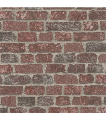 MG58408-Marburg Wallpaper by Brewster-Granulat Brick
