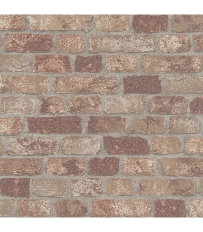 MG58409-Marburg Wallpaper by Brewster-Granulat Brick