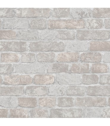 MG58410-Marburg Wallpaper by Brewster-Granulat Brick