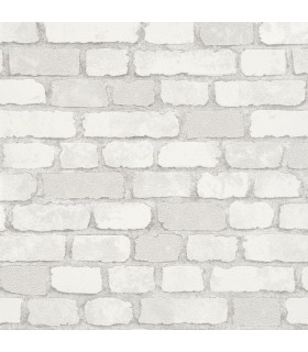 MG58412-Marburg Wallpaper by Brewster-Granulat Brick
