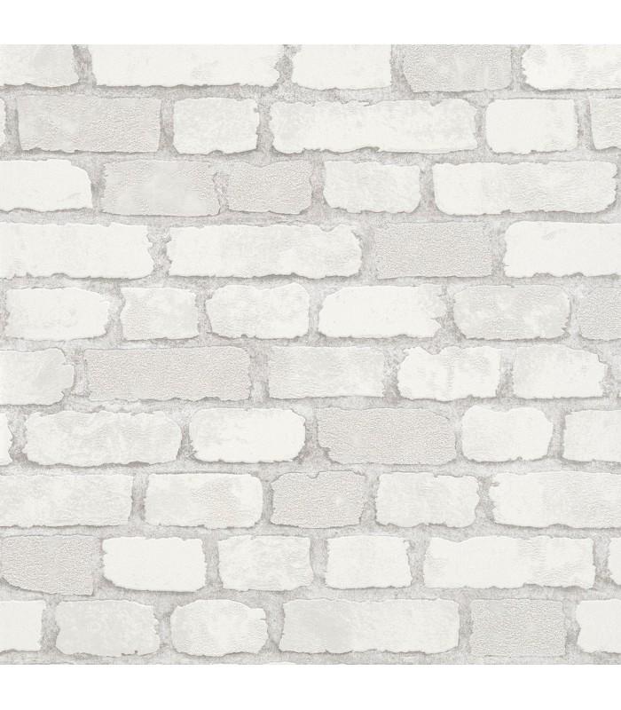 MG58412-Marburg Wallpaper by Brewster-Granulat Brick