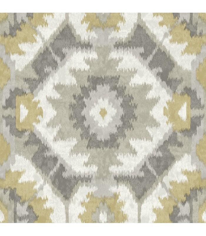 2902-25549 - Theory Wallpaper by A Street-Kazac Shibori Geometric