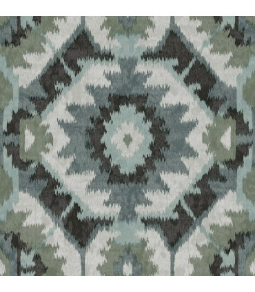 2902-25552 - Theory Wallpaper by A Street-Kazac Shibori Geometric