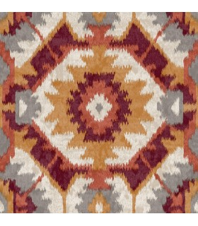2902-25551 - Theory Wallpaper by A Street-Kazac Shibori Geometric