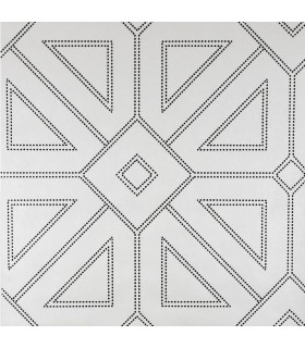 2902-87336 - Theory Wallpaper by A Street-Voltaire Beaded Geometric