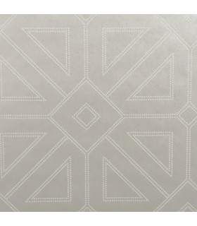 2902-87338 - Theory Wallpaper by A Street-Voltaire Beaded Geometric