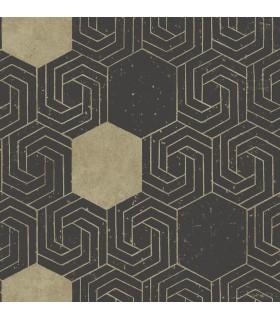 2902-25548 - Theory Wallpaper by A Street-Momentum Geometric