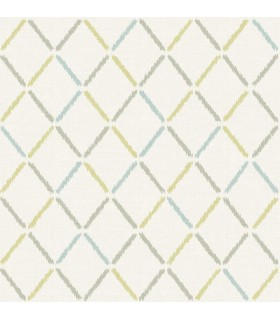 2902-25533 - Theory Wallpaper by A Street-Allotrope Linen Geometric