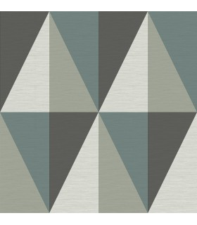 2902-25539 - Theory Wallpaper by A Street-Aspect Geometric Faux Grasscloth