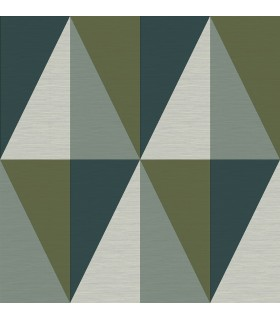 2902-25537 - Theory Wallpaper by A Street-Aspect Geometric Faux Grasscloth