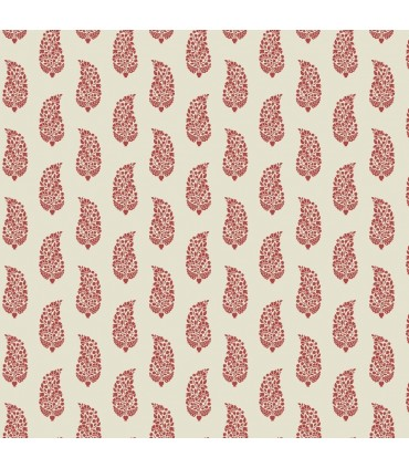 SP1418 - Small Prints Resource Library Wallpaper by York-Boteh Paisley