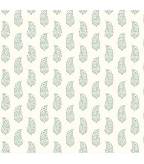 SP1421 - Small Prints Resource Library Wallpaper by York-Boteh Paisley