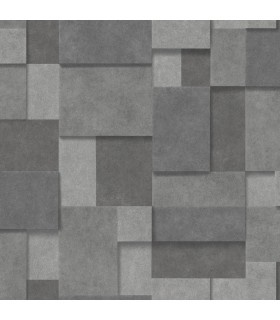 2922-25354-Trilogy Wallpaper by A Street-Gampers Metallic Squares