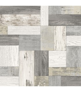 2922-25383 - Trilogy Wallpaper by A Street-Keaton Distressed Wood