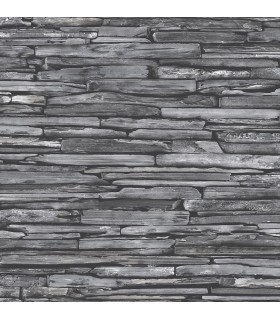 2922-22352 - Trilogy Wallpaper by A Street-McGuire Stacked Slate