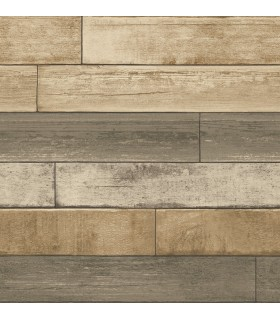 2922-22346 - Trilogy Wallpaper by A Street-Porter Weathered Plank