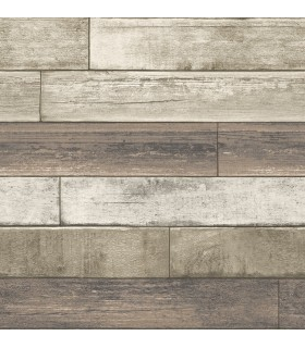 2922-22347 - Trilogy Wallpaper by A Street-Porter Weathered Plank