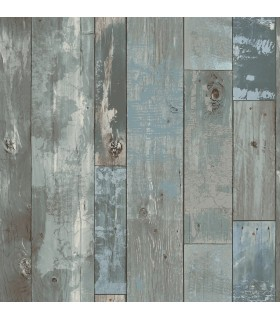 2922-24053 - Trilogy Wallpaper by A Street-Samuel Distressed Wood