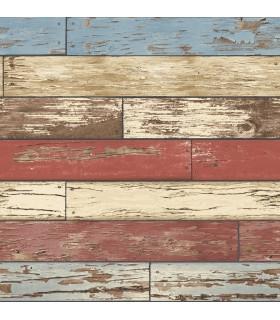 2922-22319 - Trilogy Wallpaper by A Street-Wynona Scrap Wood
