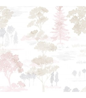 FW36830 - Fresh Watercolors Wallpaper by Norwall