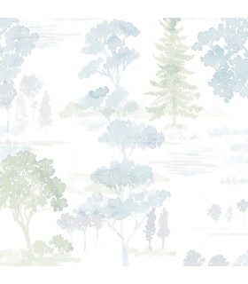 FW36829 - Fresh Watercolors Wallpaper by Norwall
