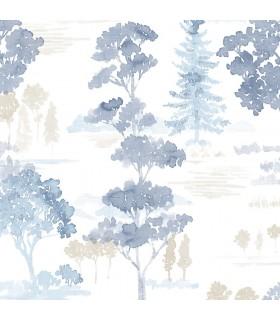 FW36831 - Fresh Watercolors Wallpaper by Norwall