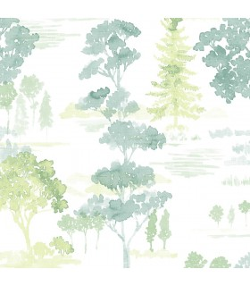 FW36832 - Fresh Watercolors Wallpaper by Norwall