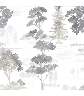FW36833 - Fresh Watercolors Wallpaper by Norwall