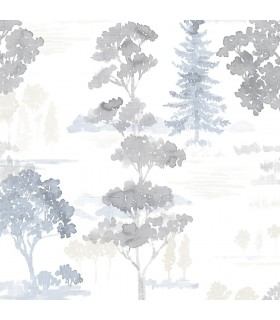 FW36834 - Fresh Watercolors Wallpaper by Norwall