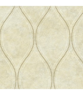 2765-BW40207 - GeoTex Wallpaper by Kenneth James-Eira Marble Ogee