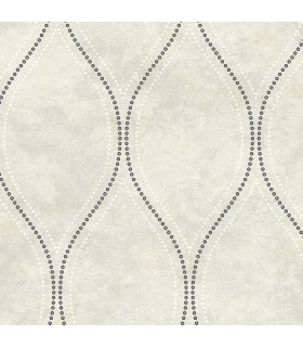 2765-BW40205 - GeoTex Wallpaper by Kenneth James-Eira Marble Ogee