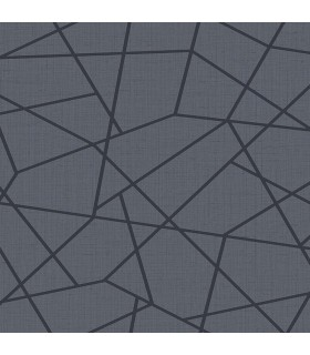 2765-BW40302 - GeoTex Wallpaper by Kenneth James-Heath Geometric Linen