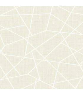 2765-BW40300 - GeoTex Wallpaper by Kenneth James-Heath Geometric Linen