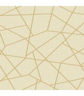 2765-BW40305 - GeoTex Wallpaper by Kenneth James-Heath Geometric Linen