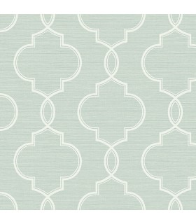 2765-BW40502 - GeoTex Wallpaper by Kenneth James-Malo Sisal Ogee