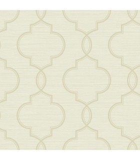 2765-BW40505 - GeoTex Wallpaper by Kenneth James-Malo Sisal Ogee