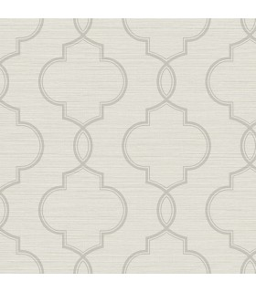 2765-BW40508 - GeoTex Wallpaper by Kenneth James-Malo Sisal Ogee
