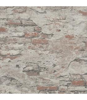 RH625554 - Rasch Wallpaper-Templier Distressed Brick