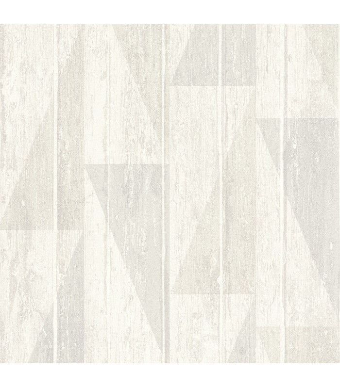 RH809107 - Rasch Wallpaper-Nilsson Geometric Wood