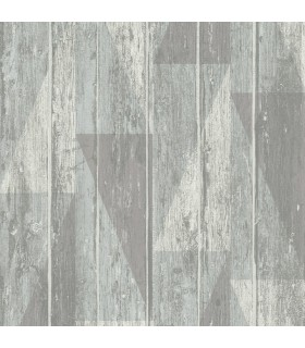 RH809114 - Rasch Wallpaper-Nilsson Geometric Wood
