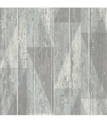 RH809114 - Rasch Wallpaper-Nilsson Geometric Wood