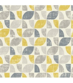 RH519846 - Rasch Wallpaper-Dorwin Geometric