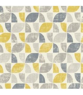 RH519846 - Rasch Wallpaper-Dorwin Geometric