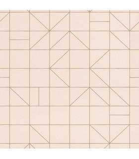 RH610734 - Rasch Wallpaper-Teague Geometric