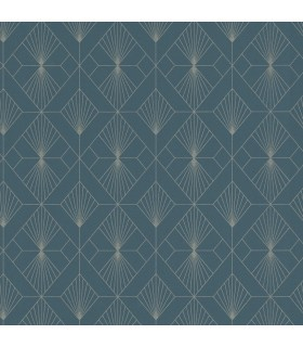 RH620924 - Rasch Wallpaper-Henri Geometric